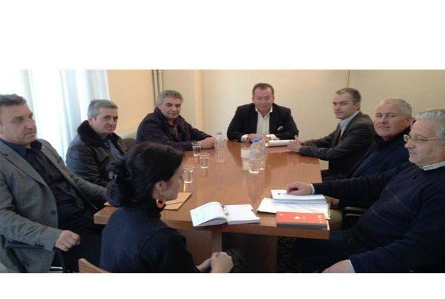 Συνάντηση του Υφυπουργού Β. Κόκκαλη με τη Νέα Ομοσπονδία Χοιροτροφικών  Συλλόγων Ελλάδος