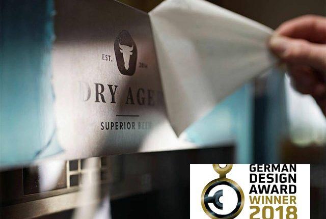 Ο σχεδιασμός του DRY AGER έφερε τη νίκη και τη βράβευση