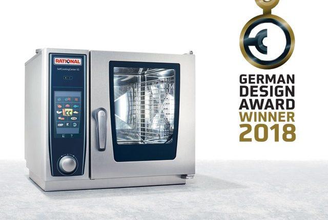Το SelfCookingCenter XS της Rational βραβεύτηκε στα Γερμανικά Design Awards 2018