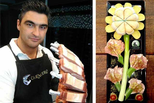 Ποπιέτα κοτόπουλου με Prosciutto Cotto & Moliterno, από τον κ. Α. Καραμαλέγκο