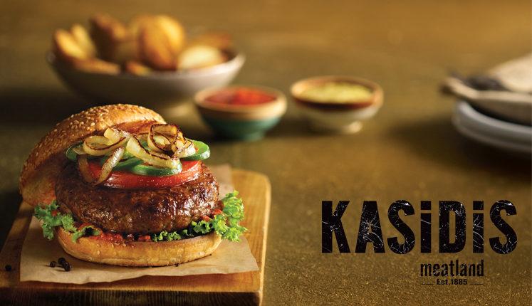 ΚΑΣΙΔΗΣ ΑΕ: Γευστικό Burger, άριστης ποιότητας, από 100% μοσχαρίσιο κρέας νεαρής ηλικίας