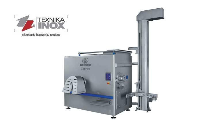 Κρεατομηχανές για όλων των ειδών τις εφαρμογές σε μικρά εργαστήρια ή μεγάλες μονάδες παραγωγής από την ΤΕΧΝΙΚΑ-ΙΝΟΧ