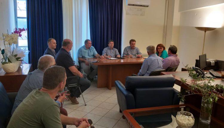 Συνάντηση της υφυπουργού Αγροτικής Ανάπτυξης και Τροφίμων με την Νέα Ομοσπονδία  Χοιροτροφικών Συλλόγων Ελλάδος