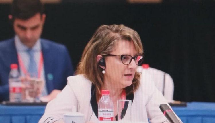 Επιτυχημένη επίσκεψη της κ. Ολυμπίας Τελιγιορίδου στην Κίνα