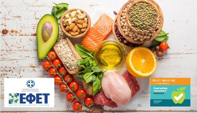 7 Ιουνίου, Παγκόσμια Ημέρα Ασφάλειας Τροφίμων