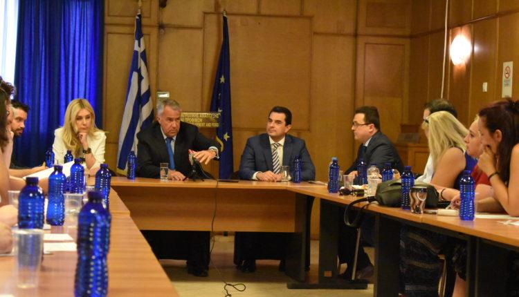 Ο Μ. Βορίδης παρουσίασε τους Γ.Γ. του ΥπΑΑΤ