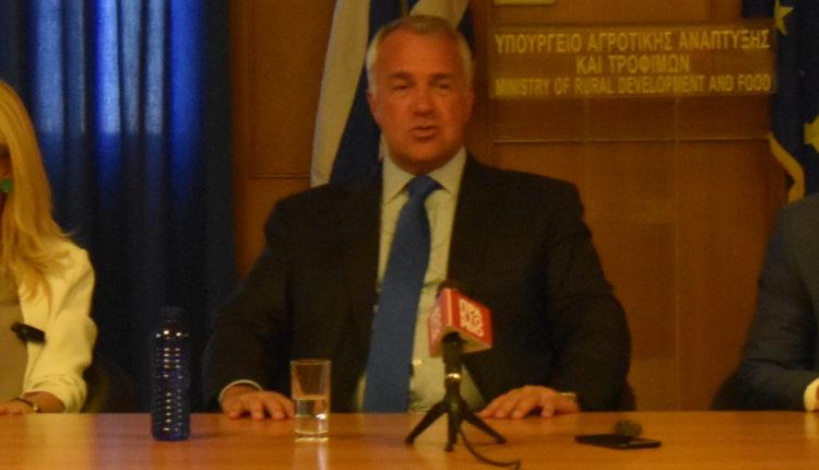 Με εκπροσώπους από Ενώσεις και Συνδέσμους συναντήθηκε στο ΥΠΑΑΤ ο Μ. Βορίδης