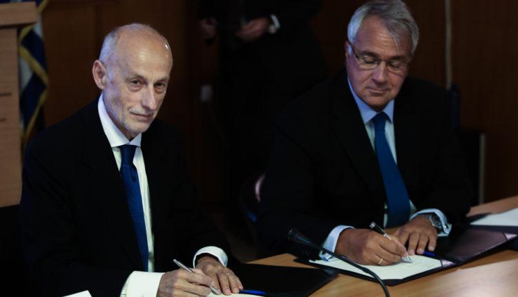Υπογραφή συμφωνίας μεταξύ ΥπΑΑΤ και ΕΤαΕ για τη δημιουργία του Ταμείου Εγγυήσεων Αγροτικής Ανάπτυξης