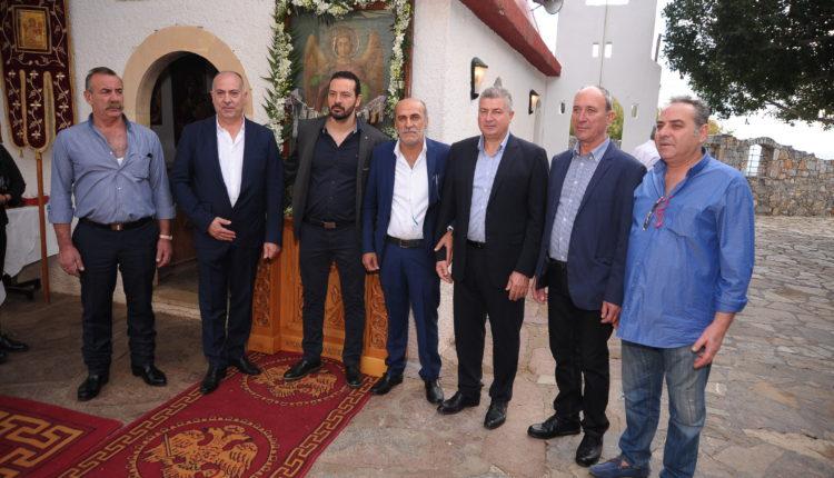 Οι κρεοπώλες του Ν. Ηρακλείου γιόρτασαν τον προστάτη του Συνδέσμου τους Μιχαήλ Αρχάγγελο