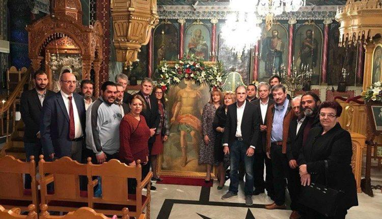 Σωματείο Κρεοπωλών Ν. Μεσσηνίας «Η Πρόοδος»: Γιορτή για τον προστάτη του σωματείου Αρχάγγελου Μιχαήλ