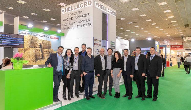 HELLAGRO A.E.: Έντονη παρουσία και προβολή στην 28η έκθεση Agrotica