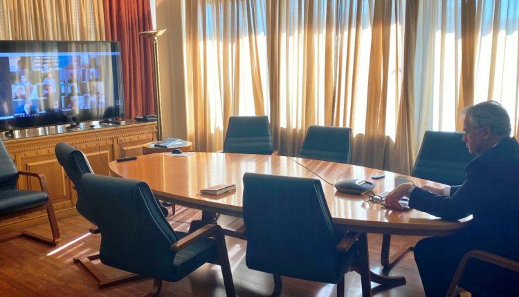 Τηλεδιάσκεψη του ΥπΑΑΤ Μ. Βορίδη με εκπροσώπους του πρωτογενούς τομέα