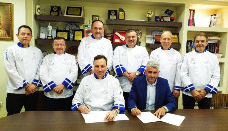 Υπογραφή Πρωτοκόλλου Συνεργασίας μεταξύ της Λέσχης Αρχιμαγείρων Ελλάδος και της Ένωσης Εστιατορίων και Συναφών Αττικής