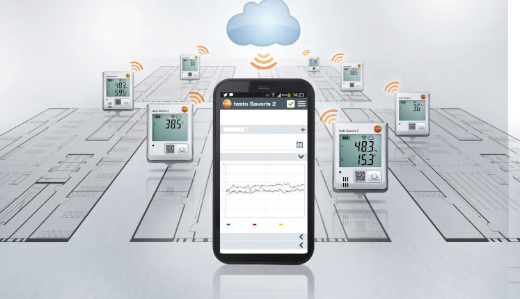 Κ. ΒΟΥΛΤΣΙΟΣ & ΣΙΑ Ο.Ε.: Σύστημα παρακολούθησης δεδομένων Testo Saveris 2