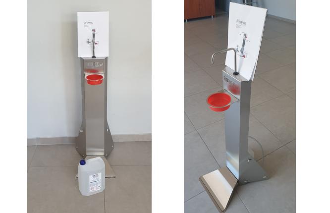 ΝΑΝΟΥ ΣΤΑΥΡΟΥΛΑ Μ. Ε.Π.Ε.: Πρωτοποριακή συσκευή απολύμανσης χεριών