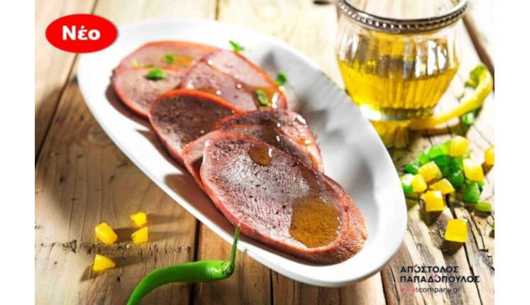 ΑΠΟΣΤΟΛΟΣ ΠΑΠΑΔΟΠΟΥΛΟΣ MEAT COMPANY: Γλώσσα βοδινή καπνιστή από ελληνικά βοοειδή