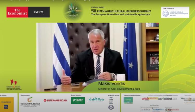 Μ. Βορίδης: Το ισοζύγιο εισαγωγών-εξαγωγών στα αγροτικά προϊόντα οδεύει προς ισοσκελισμό